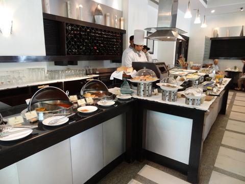 PALMSの朝食ビュッフェ