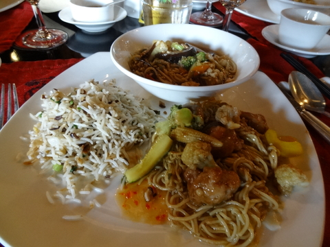 インドの中華料理