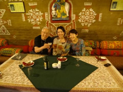 ジャイプール夕食 India
