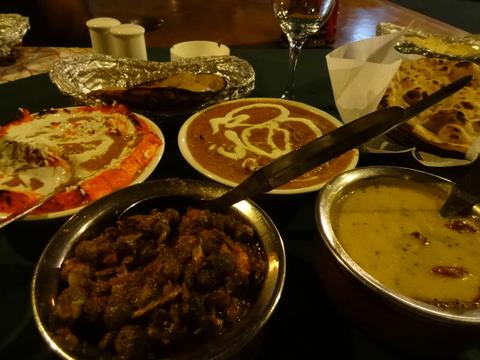 ラジャスターンのインド料理