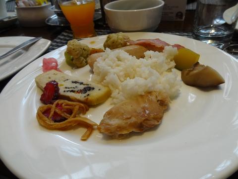 デリー ラマダホテル朝食