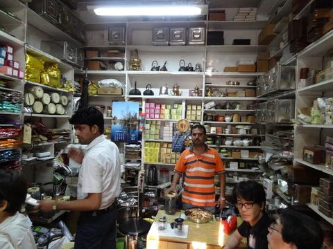 デリーの紅茶専門店MITTAL