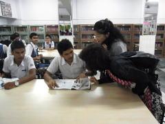 インドの私立学校視察